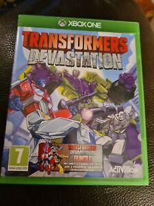 Xbox One Transformers Devastation Pegi 7 FREE POSTAGE