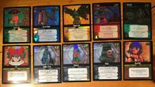 Dot Hack .Hack Enemy TCG Lot of 10 Starter FOIL Cards (1S109 - 1S118) - M/NM