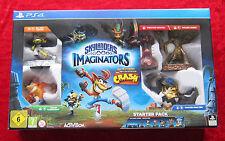 Skylanders Imaginators PS4 PlayStation 4 Spiel Starter Pack Crash Bandicoot, Neu
