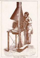 """Carte postale """" petits et vieux métiers """" le forgeron forge portative"""
