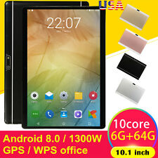 10.1 Inch HD Game Tablet Computer PC Android 8.0 Ten-Core...