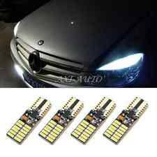 4x 6000K White T10 2825 LED Sidemarker Light CANbus For W204 City Eyebrow Eyelid
