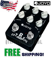 New JOYO JF-17 Extreme Metal High Gain Distortion EQ Effects Pedal Stompbox