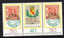 BRD 1978 MER. n. 980-981 ZD post fresco TOP!!! (27752)
