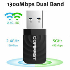 USB3.0 WiFi Adapter 600Mbps Dual Band 2.4G/5Ghz Dongle Wireless Network Receiver
