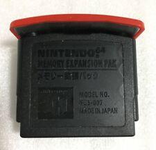 Nintendo 64 Expansion Pak Official N64 Memory Pack NUS-007 JAPAN F/S