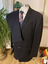 Vintage 40s Dated 1948 Striped Suit Talon Zipper