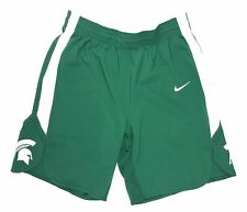 Nike Michigan State Spartans Basketball Game Shorts Men's L Green White 867741