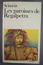 SCIASCIA / LES PAROISSES DE REGALPETRA / POCHE FOLIO