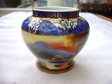 Small Noritake vase hand decorated