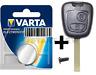 Peugeot Citroen Toyota Schlüssel Tasten Gehäuse+ Batterie C1 C2 C3107 307 Aygo