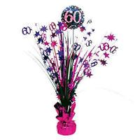 Amscan Mini Tote Balloon Weight Sparkling Celebration 60 Multicolor 110470