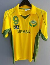 BRASIL FIFA World Cup 2006 Jersey Mens Size M Germany Shirt #9