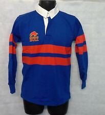 Mens Raging Bull Stripe Long Sleeve Polo Shirt Top Size 40'' Chest Black #1645