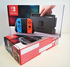 BRAND NEW & SEALED NINTENDO SWITCH 32GB WiFi GAMING CONSOLE - NEON RED/BLUE UK