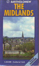 The MIDLANDS - BARTHOLOMEW 1: 253440 FULLY INDEXED MAP VGC