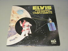 Elvis Presley- Aloha From Hawaii Via Satellite- 2XLP 1973 RCA  Quadradisc