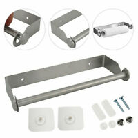 Küchenrollenhalter ohne Bohren aus Edelstahl - Perfekt für Küchen und Werkstatt