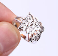 BUTTERFLY TOPAZ .925 SOLID STERLING SILVER RING SIZE 6 #21318