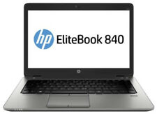 "HP EliteBook 840 G1 14"" Laptop Core I5-4210u 4gb Ram/ 500gb HDD W7 Black-"