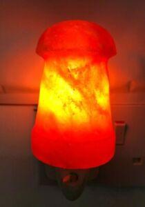 Himalayan Salt Wall Lamp Plug In Night Light Air Purifier Switchable Mushroom