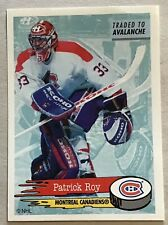 1995-96 PATRICK ROY PANINI STICKER CARD #46 CANADIENS