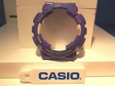 Casio Watch Parts GA-110 HC-6A  Bezel / Shell Purple. Red/grn/blue/yel Lettering