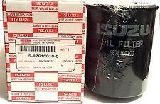 GENUINE ISUZU TROOPER 3.1 TD 1991 - 1998 OIL FILTER 5876100100