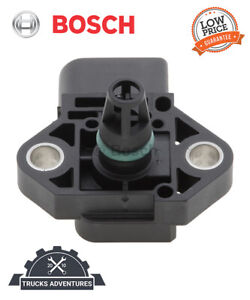 Bosch 0281002976 Manifold Absolute Pressure Sensor,Turbocharger Boost Sensor