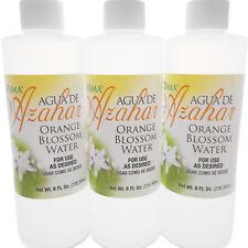 3 Pack Germa Orange blossom Flower Water Agua de Azahar Skin Cleanser Face Toner