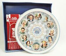 "Mint in Box Wedgwood Calendar 10"" Plate 2000 w/ Free Hanger Art & Music England"