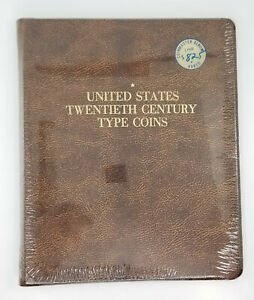 Harco United States 20th Century Type Coins Two Page Coin Album