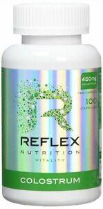 Reflex Nutrition  Colostrum - 100 caps  Free P&P