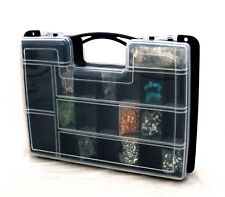 Double Sided 32 Compartment Storage Organizer With See Thru Lids