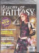 REALMS OF FANTASY MAGAZINE Dec 2006 BAGGED + NOCTURNE Paranormal Romance Book