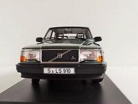 Volvo 240 Gl 1986 Greenmetallic 1/18 Minichamps Pma 155171400 244