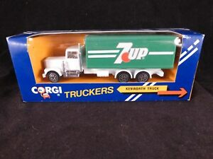 Corgi Truckers 7UP Kenworth Truck Older Style Livery - Mint Condition in Box