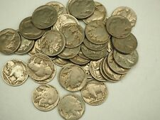 New listing Lot of 40 - Buffalo Nickels -readable partial dates mixed Lot