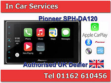 Pioneer SPH-DA120 Apple CarPlay, Touch Screen, Bluetooth, iPhone USB