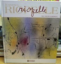 Jean-Paul RIOPELLE Robert Bernier / PEINTRE CANADIEN CANADIAN PAINTING ART BOOK
