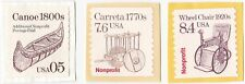 USA - NONPROFIT ORG. STAMPS x 3 STAMPS UNCANCELED ON PAPER #3
