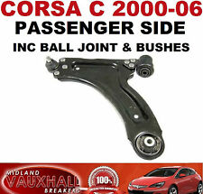 VAUXHALL CORSA C FRONT BOTTOM WISHBONE LOWER SUSPENSION ARM PASSENGER SIDE NEAR