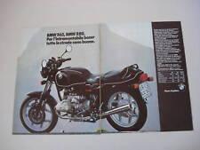 advertising Pubblicità 1986 MOTO BMW R65 R 65