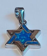 MODERN STAR OF DAVID PENDANT sterling silver with gift box Judaica