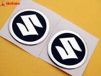 Oil Tank Badges Fairing Emblems Decals for Suzuki Racing Motorcycles 5.5cm Round