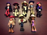 2003 McDonald's Happy Meal Bratz mint complete set