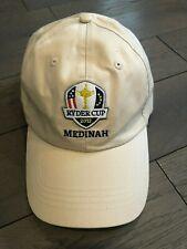 IMPERIAL Medinah Ryder Cup 2012 Golf Hat Cap Khaki