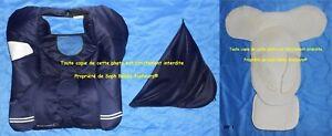 Housse pad habillage Canopy capote cosy CREATIS Oxygen blue bleu