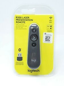 Logitech R500 Laser Presentation Remote - New In Box