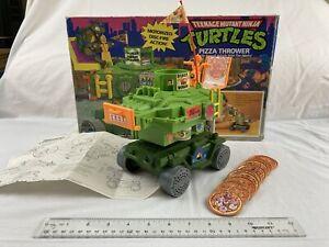 Vintage 1989 Playmates TMNT Teenage Mutant Ninja Turtles Pizza Throwerw/Box